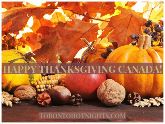 Happy Thanksgiving Toronto